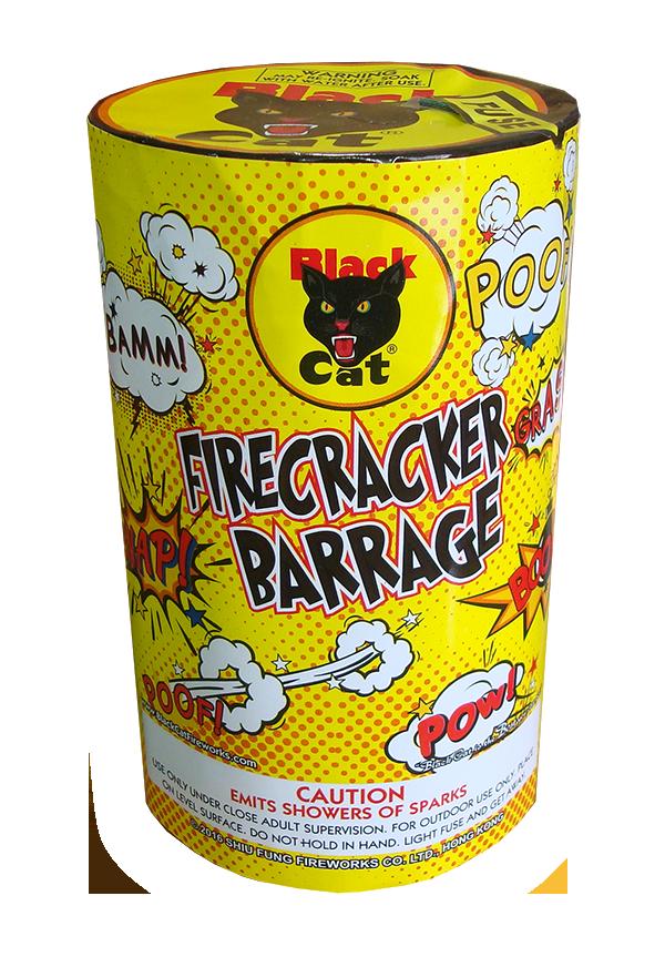 Black Cat Firecracker Barrage
