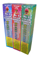 no8 color bamboo megabanger